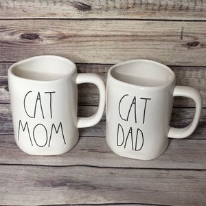 Rae Dunn Cat Mom and Dad!